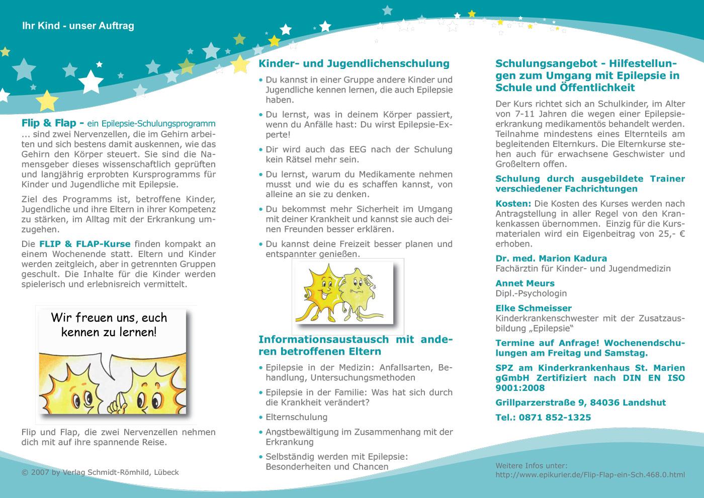 Flip Flap Epilepsieberatung Niederbayern